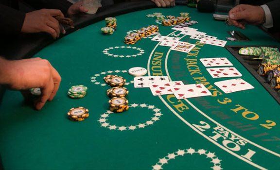 Knock out blackjack key count